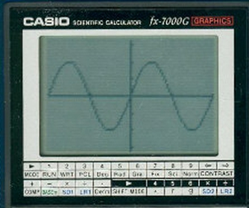 Example Graph of Casio FX 700 G