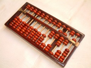 Picture of an abacus