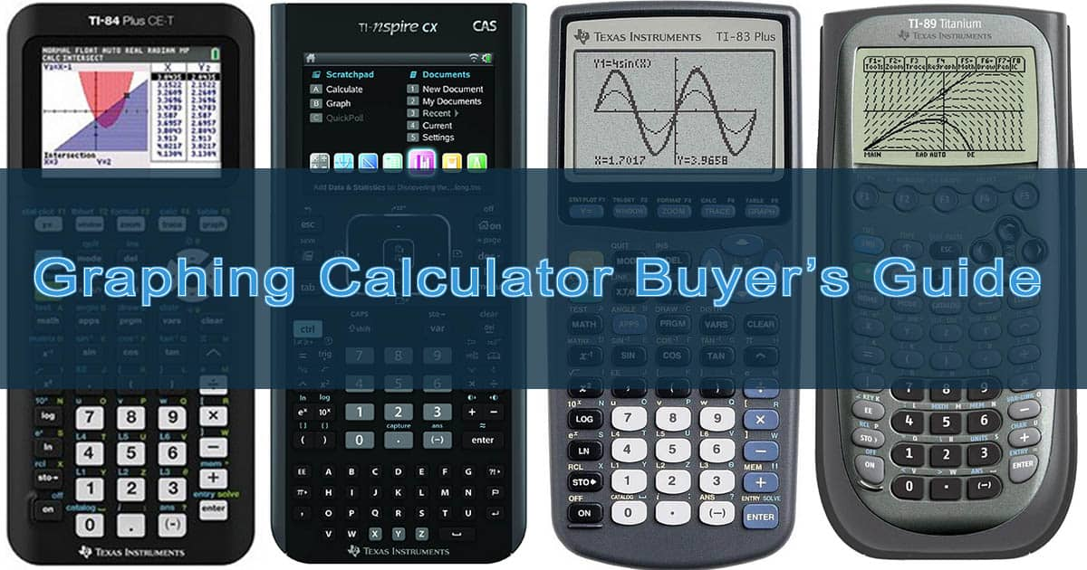 Graphing Calculator Buyers Guide