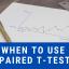 t-test, t-test graph